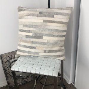 Z Gallerie Fur Rawhide Accent Pillows